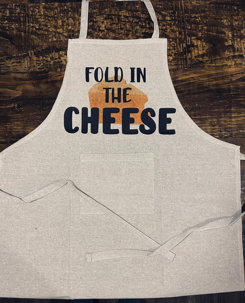 Fold in the Cheese Apron