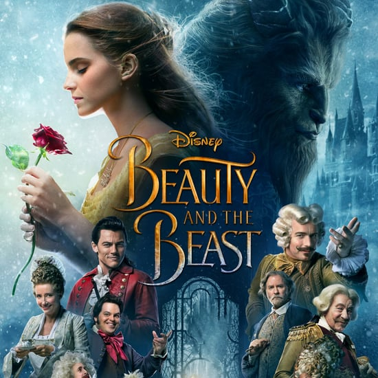 Belle's Ear on the Beauty and the Beast Poster