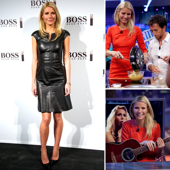 Gwyneth Paltrow Launching Hugo Boss Perfume | Pictures