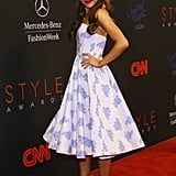 Ariana Grande attended the Style Awards.