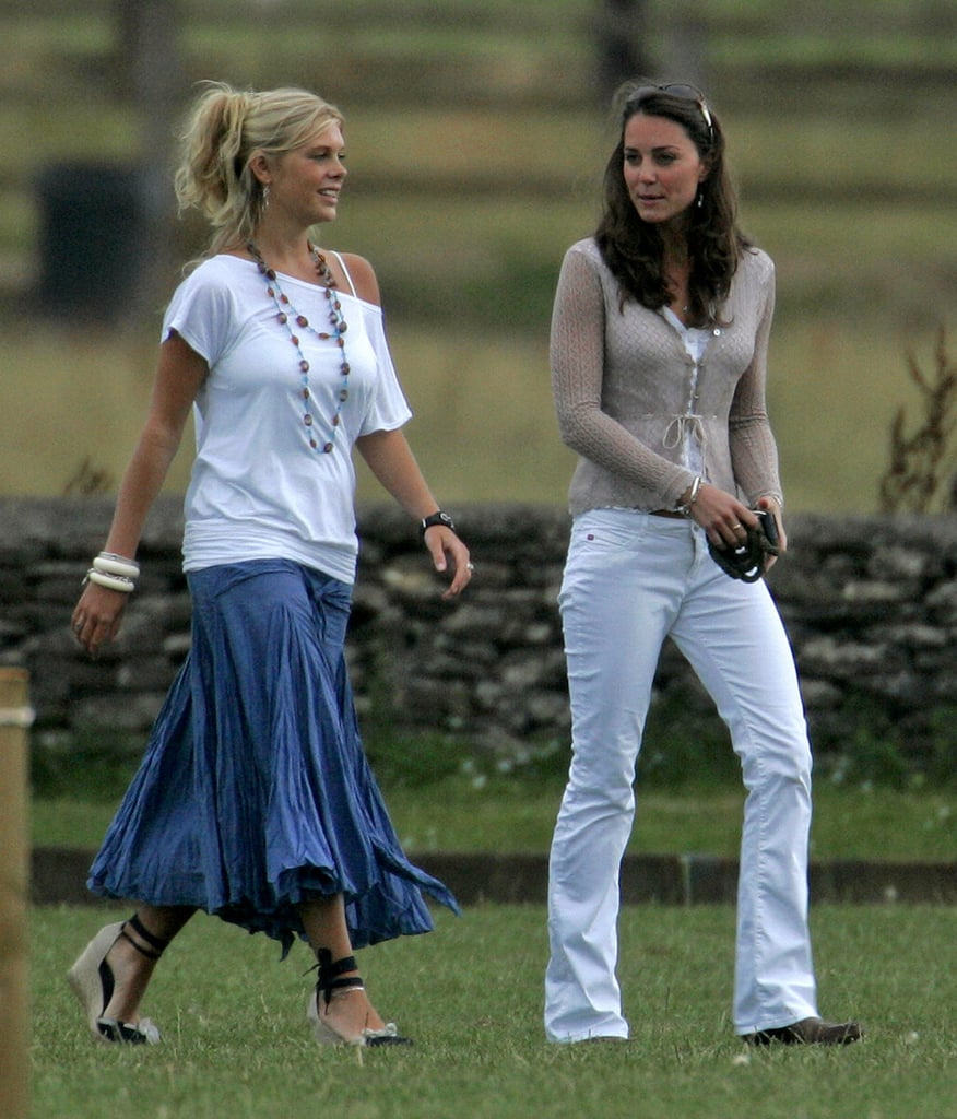 Kate Middleton And Prince Harry's Then-girlfriend, Chelsy