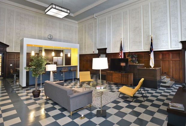 Remodeled Historic Winston-Salem Courthouse