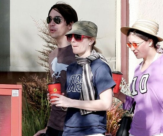 Photo of Drew Barrymore and Justin Long out in LA