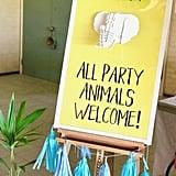 A Wild Child Safari Party