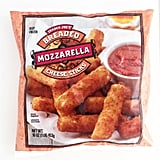 Breaded Mozzarella Cheese Sticks ($4)