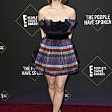 See Joey King's Rainbow Dress at the People's Choice Awards