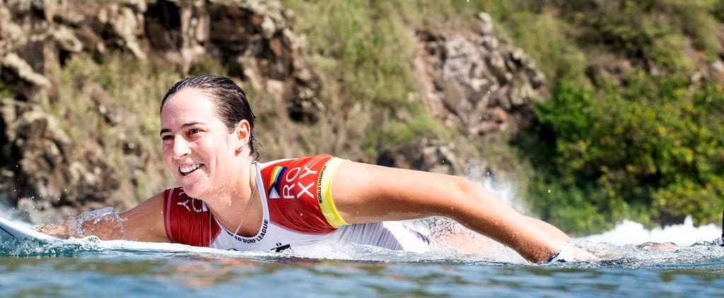 Tyler Wright Wears Progress Pride Flag at 2020 Maui Pro