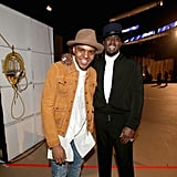 C.J. Wallace and Diddy