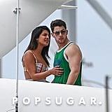 Jonas Brothers, Sophie Turner, Priyanka Chopra Miami Photos