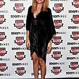 Nicole Richie wore an LBD for the Teen Vogue Fashion University event in NYC.