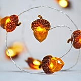 Acorn Silver Wire LED Lights