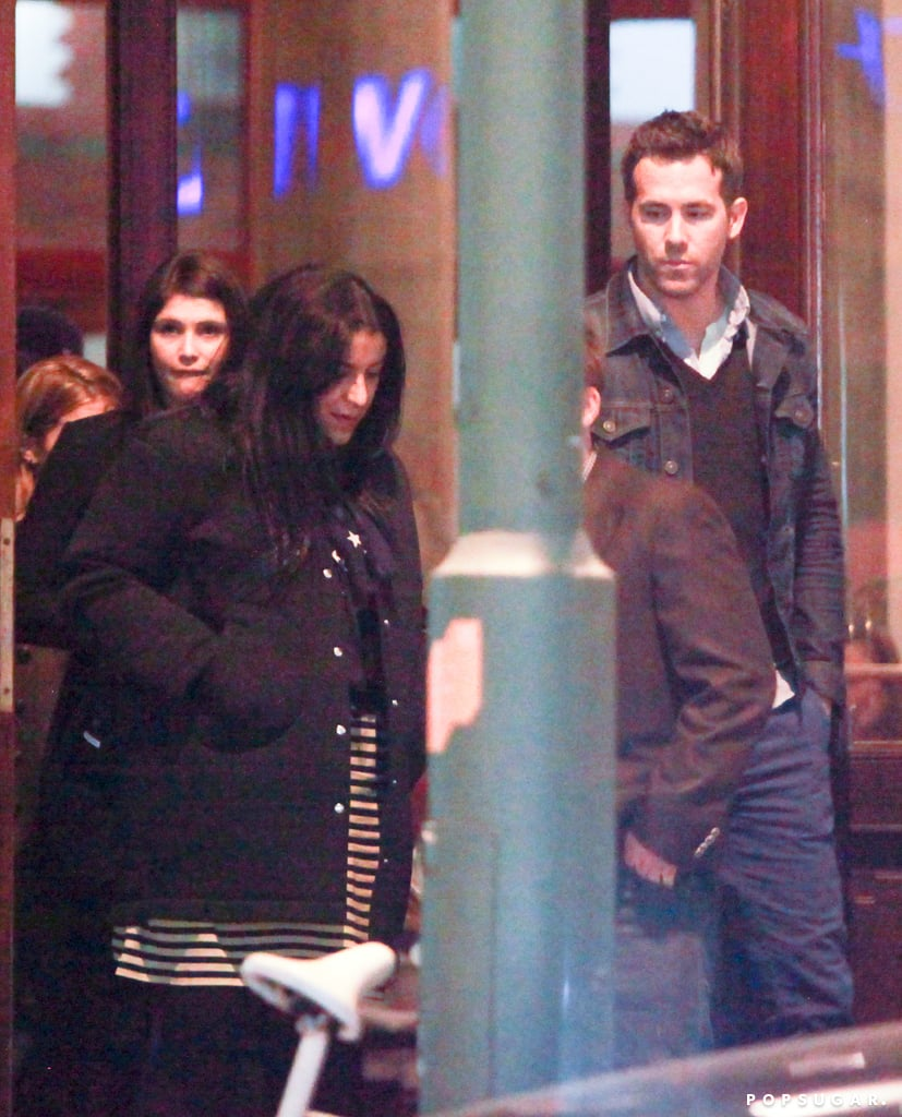 Ryan Reynolds Does Dinner With His Leading Ladies Anna Kendrick and Gemma Arterton