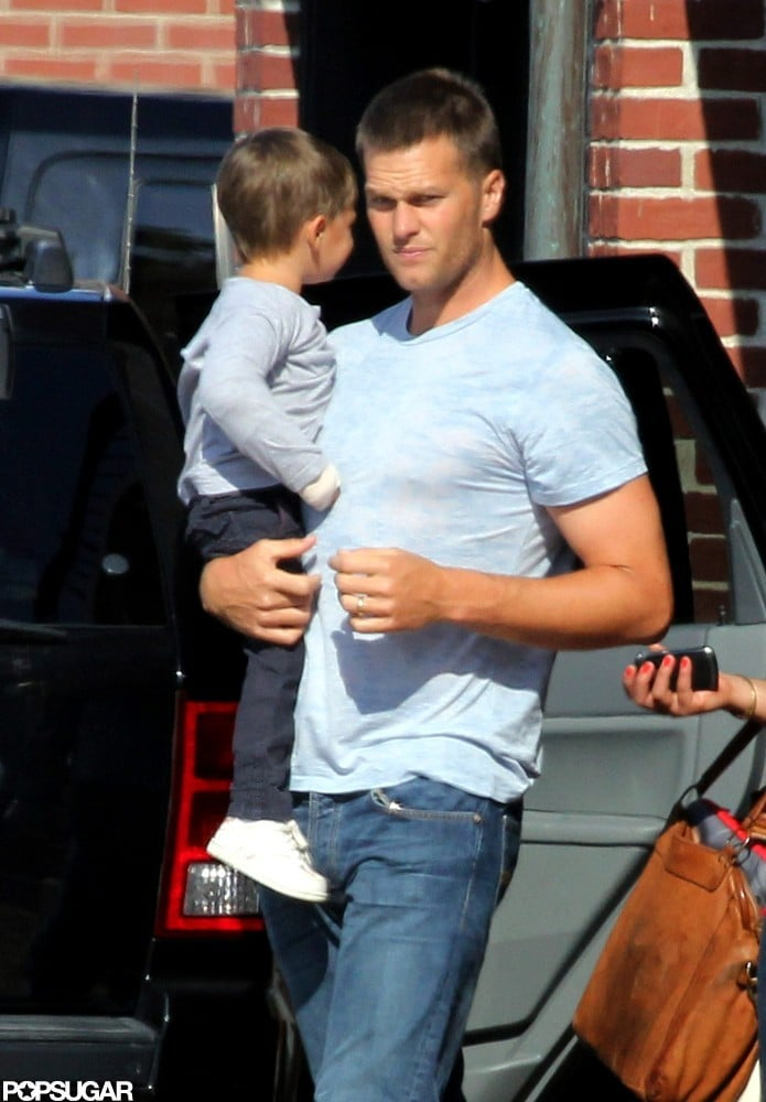 Tom Brady spent time with Benjamin Brady.