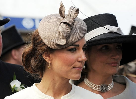 Kate Middleton Wore Her Hair Up at the Epsom Derby