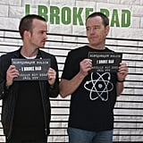 Our Hearts Swelled When They Posed For This Cheeky Pic During the Breaking Bad National RV Tour