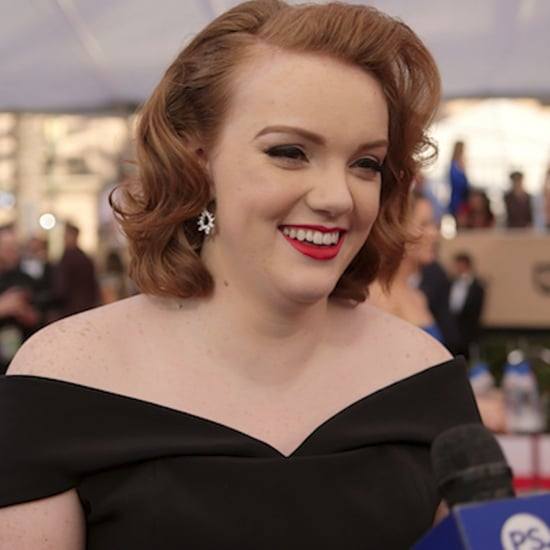 Shannon Purser Stranger Things SAG Awards Interview | Video