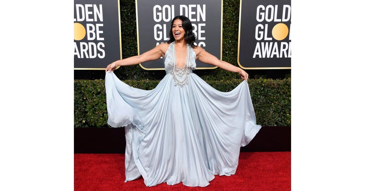 Gina Rodriguez at the 2019 Golden Globes  5b9ef07da