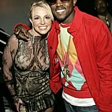 Britney Spears and Kanye West buddied up at the Billboard Music Awards in December 2004.