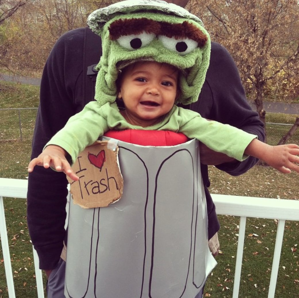 Oscar The Grouch 37 Adorable Halloween Costumes For Baby