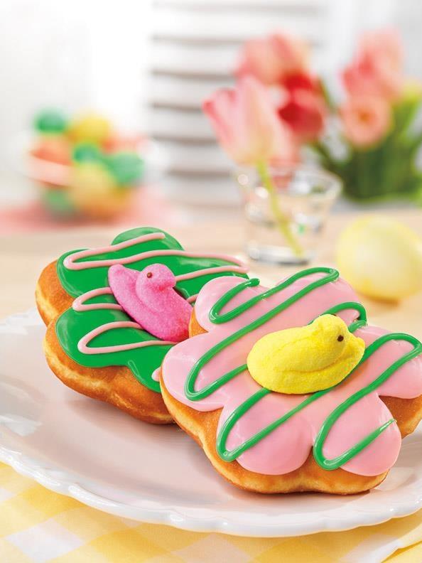 Dunkin' Donuts Peeps Doughnut