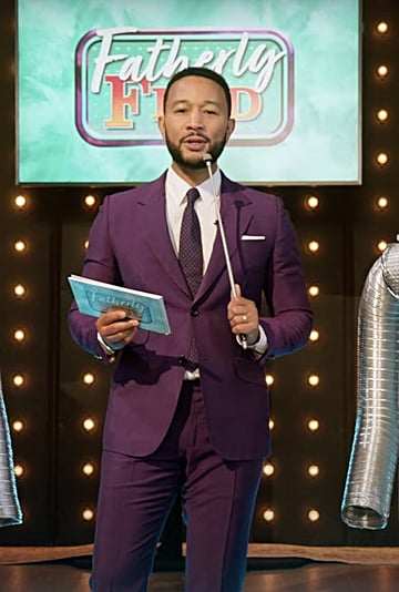 """John Legend Hosts """"Fatherly Feud"""" in Father's Day Special"""