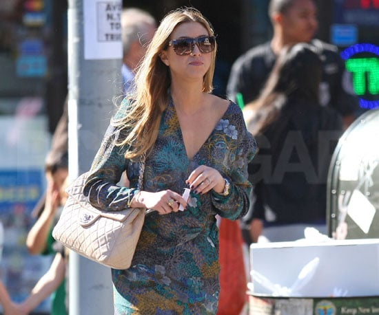 Slide Photo of Whitney Port Walking Around NYC