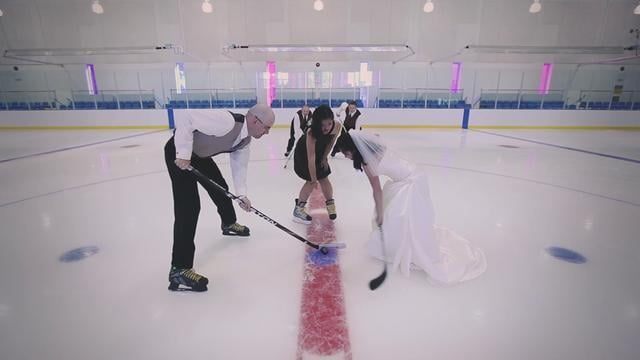 Ice Rink Ceremony