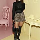 Luna Blaise at the Alice + Olivia New York Fashion Week Presentation