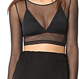 Spanx Sheer Crop Top
