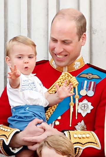 Prince Louis's Facial Expressions