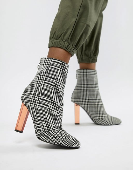 Asos Design Electricity Heeled Boots
