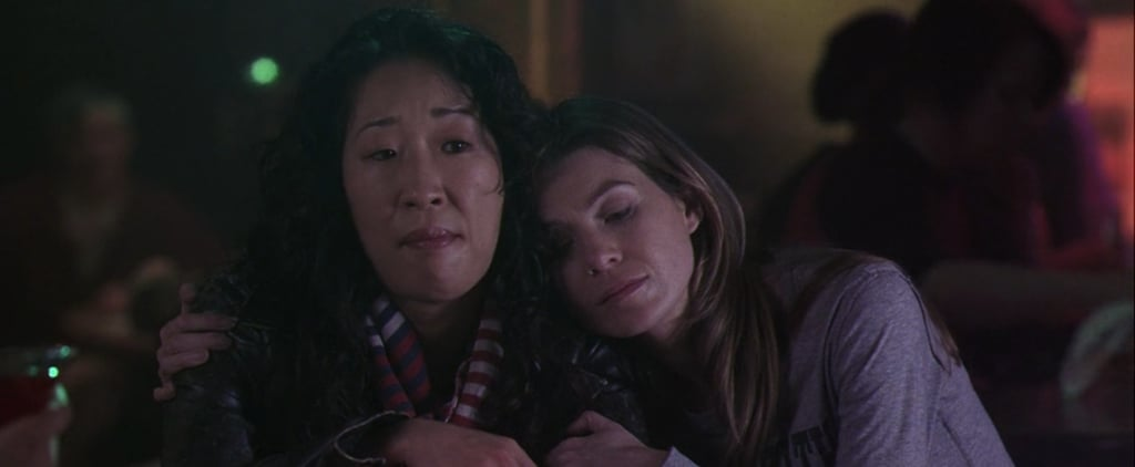Ellen Pompeo's Reaction to Sandra Oh's Emmy Nomination