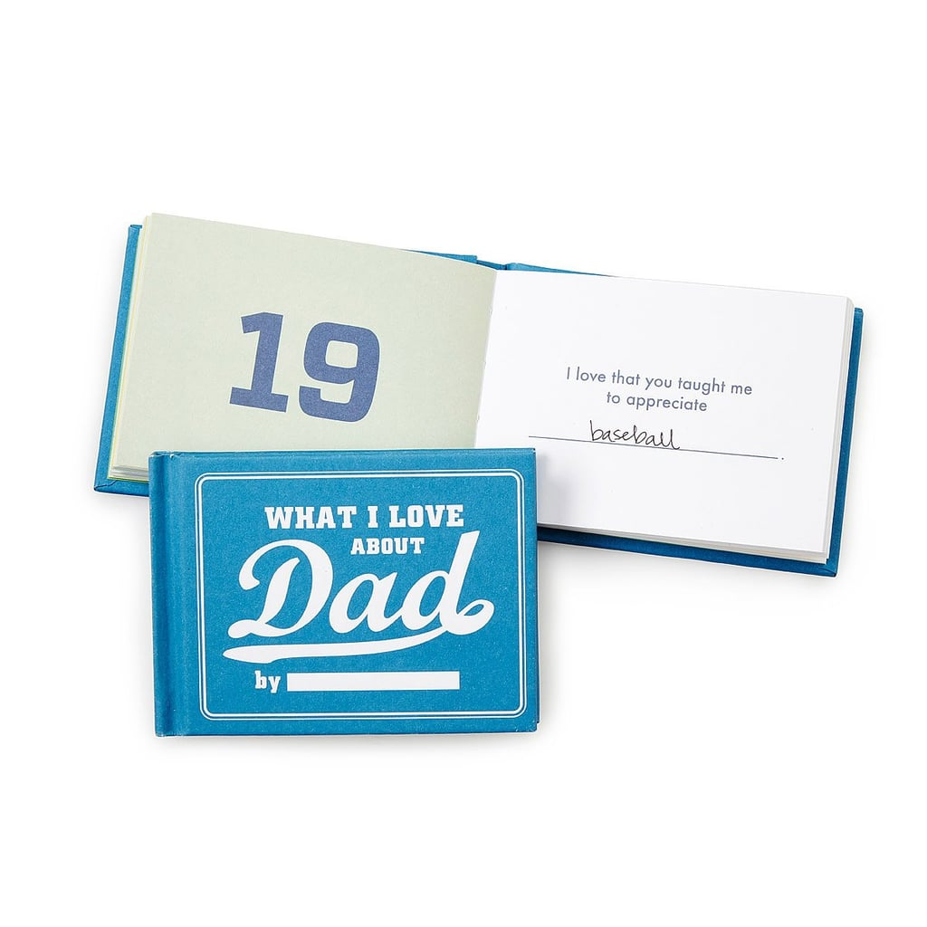 what i love about dad by me book | father's day gift ideas 2018