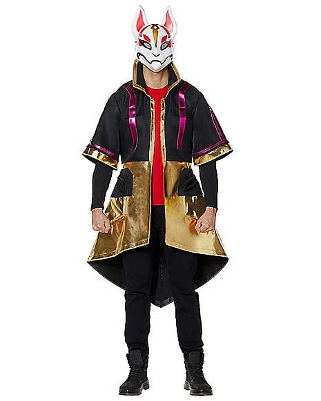 Fortnite Halloween Costumes 2019.Adult Drift Coat From Fortnite Best Spirit Halloween