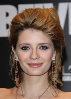 Photo of Mischa Barton at Vanity Fair Party at Milan Fashion Week. Bouffant Big Hair. Love or Hate Her Beauty Look Style?