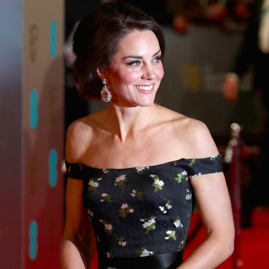 Duchess of Cambridge McQueen Dress at BAFTA Awards 2017