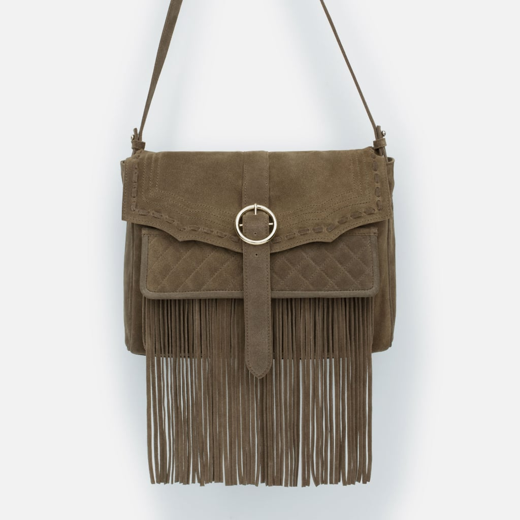 Zara Fringe Belt Bag ($139)