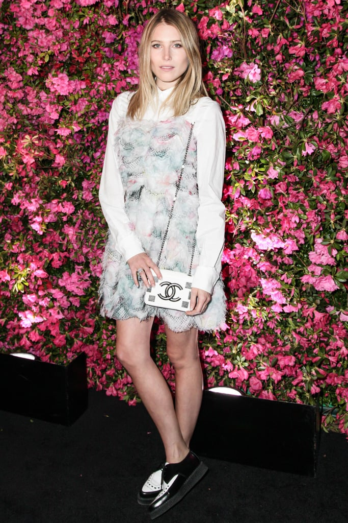 Dree Hemingway wore Resort 2013 Chanel at Chanel's Tribeca Film Festival Artists Dinner in New York. Source: Matteo Prandoni/BFAnyc.com