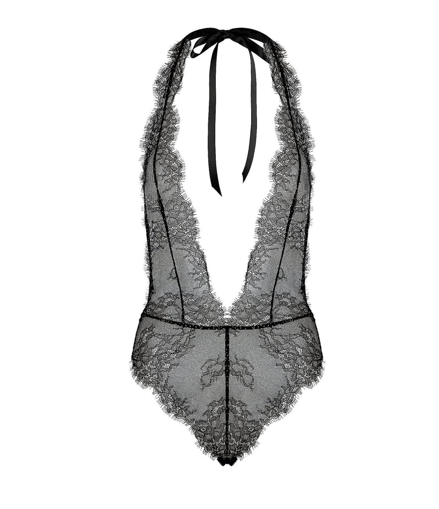 L'Agent by Agent Provocateur Grace Lace Bodysuit  ($198)