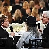 Martin Short and Steve Martin Kissing at AFI Event 2017