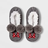 Minnie Mouse Pull-On Slipper Socks