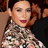 Kim Kardashian's Hair and Makeup at the 2013 Met Gala