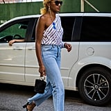 Danielle Prescod's take on denim comes with all the right accessories.