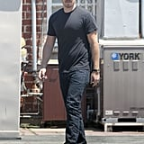 Will Kopelman dropped off and picked up Drew Barrymore at a nail salon in LA.