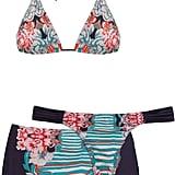 Brigitte Three-Piece Bikini Set