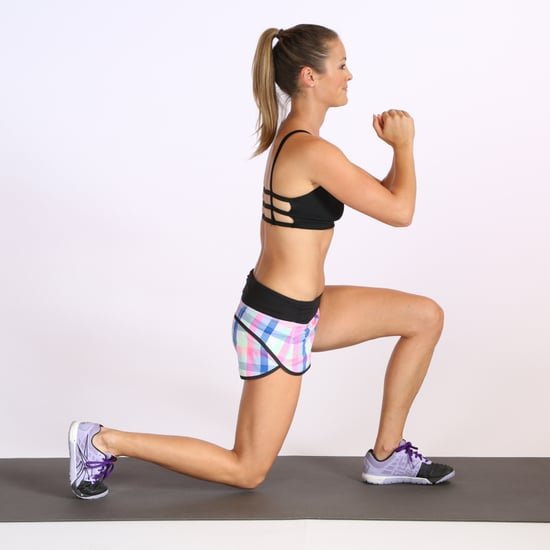 10-Minute Legs and Butt Workout From Pop Physique