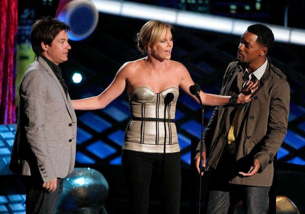 Jason Bateman, Charlize Theron, and Will Smith