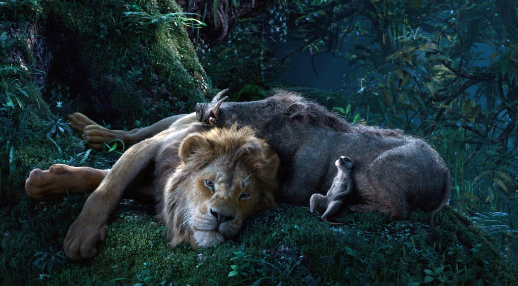 Timon and Pumbaa in The Lion King Reboot Video