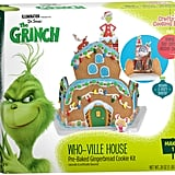 Get to work on your very own Grinch Whoville Gingerbread House Kit ($13) ASAP.