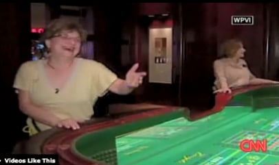 New Jersey Grandmother Cleans Up at Craps Table
